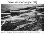 cuban missile crisis oct 62