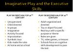 imaginative play and the executive skills