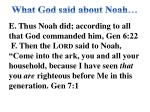 what god said about noah1
