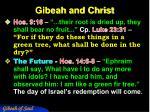 gibeah and christ2