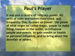 paul s prayer1