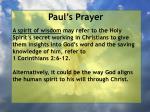 paul s prayer17
