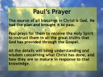 paul s prayer20