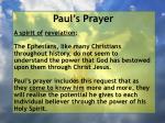 paul s prayer21