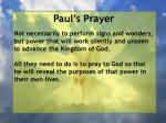 paul s prayer22