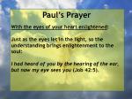 paul s prayer24