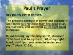 paul s prayer31