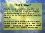 paul s prayer36