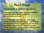paul s prayer39
