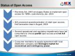 status of open access