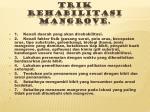 trik rehabilitasi mangrove