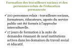 formation des travailleurs sociaux et des personnes relais de l ducation permanente