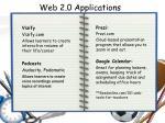 web 2 0 applications