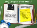 why integrate social media