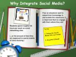 why integrate social media1