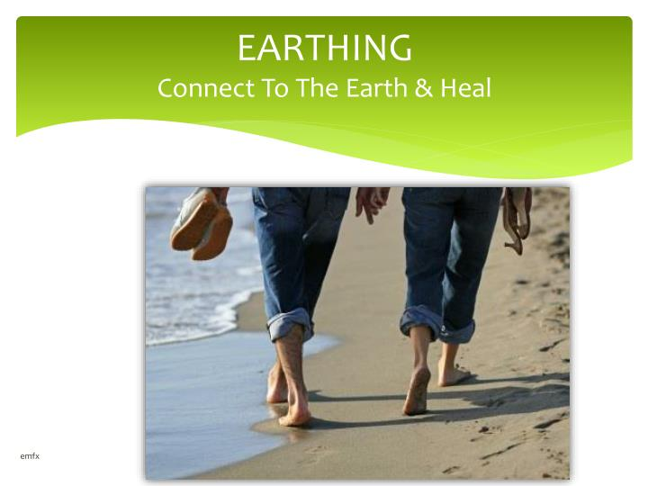 earthing connect to the earth heal n.