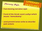 literary features