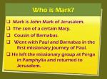who is mark
