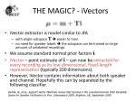 the magic ivectors