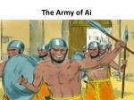 the army of ai