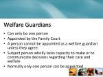 welfare guardians