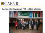 borlaug fellows and fep in des moines