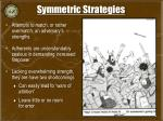 symmetric strategies