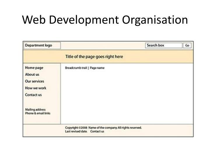 Web Development Organisation