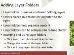 adding layer folders
