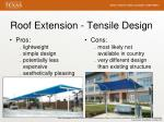roof extension tensile design1