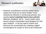 research justification2