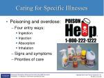 caring for specific illnesses10