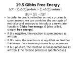 19 5 gibbs free energy