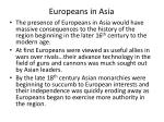 europeans in asia