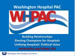 washington hospital pac