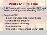 visits to fire line1