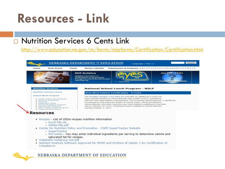 Resources - Link