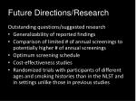 future directions research