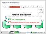 random distribution