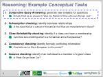 reasoning example conceptual tasks