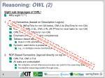 reasoning owl 2
