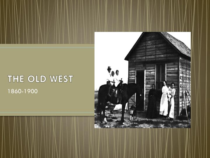the old west n.