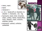 manacle s