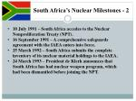 south africa s nuclear milestones 2