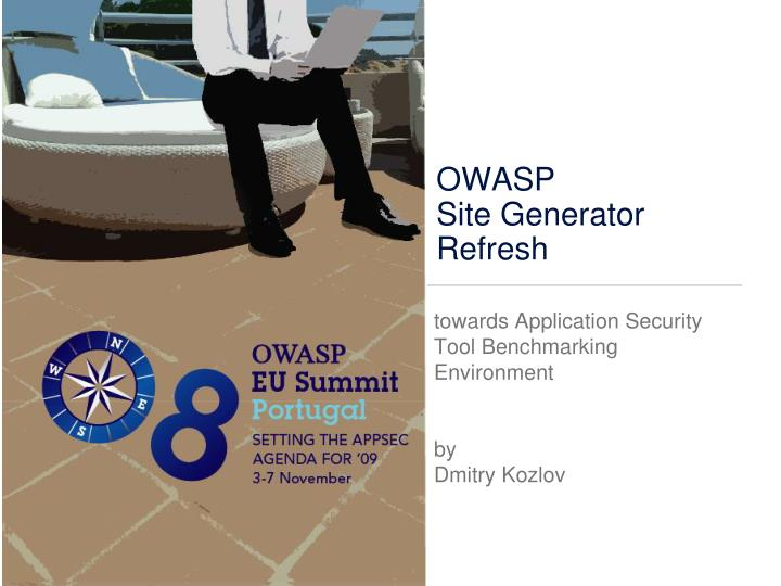 owasp site generator refresh n.