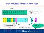 the immediate update mimicker1
