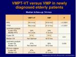 vmpt vt versus vmp in newly diagnosed elderly patients