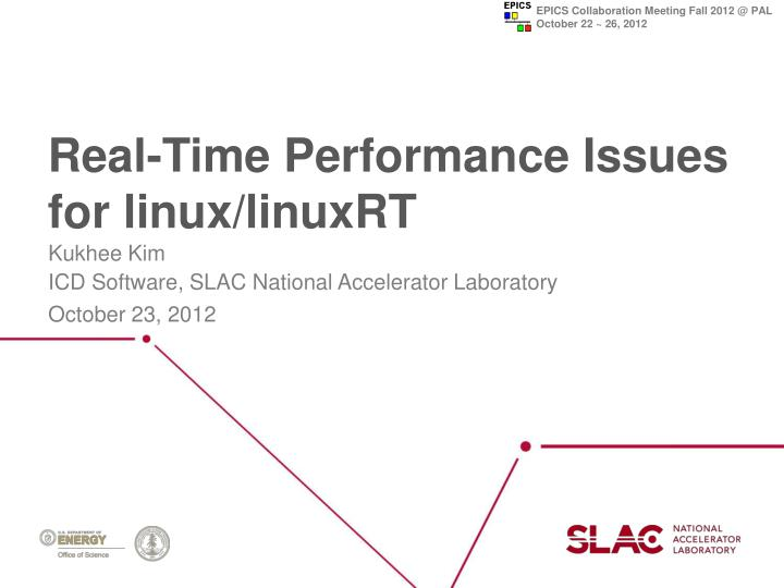 real time performance issues for linux linuxrt n.