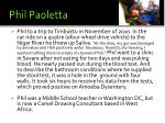 phil paoletta