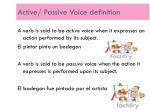 active passive voice definition